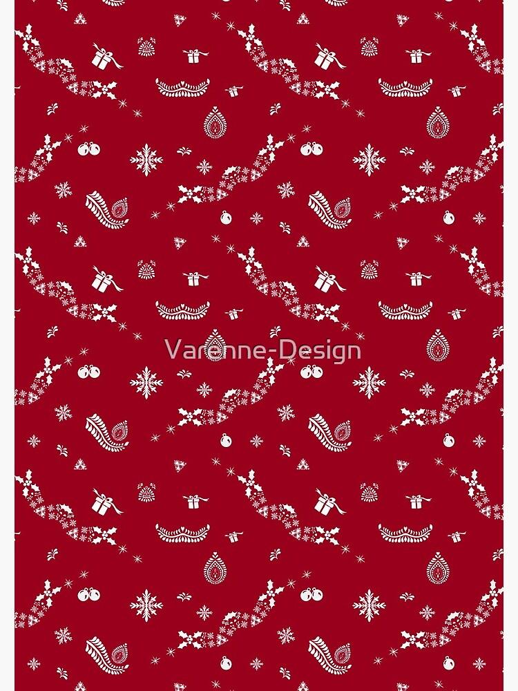 «XMas red» par Varenne-Design