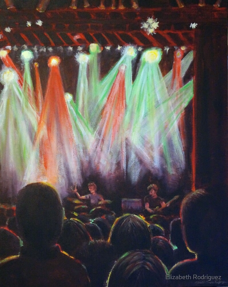 Stage Lights: In the Crowd by Elizabeth Rodriguez