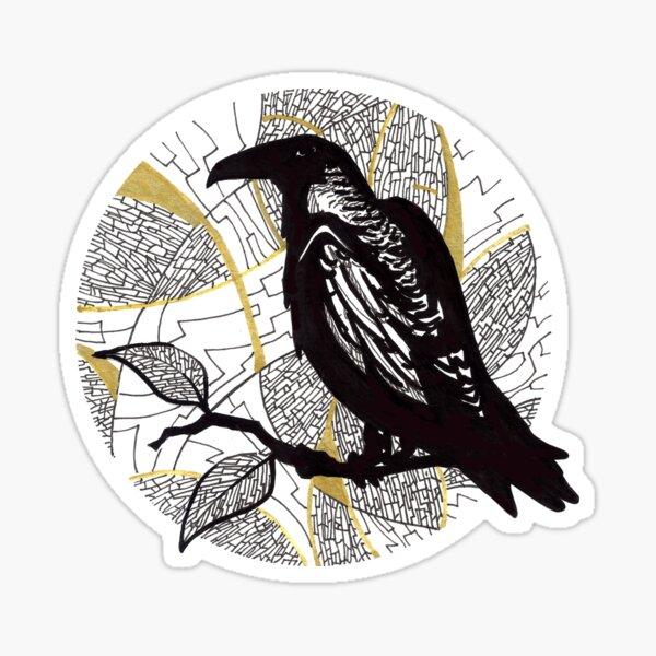 Corbeau  Sticker