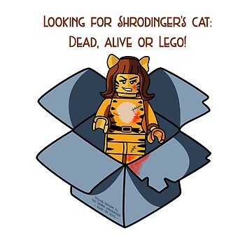 Looking for Shrodinger's Cat - Dead, Alive or Lego! by StayLego
