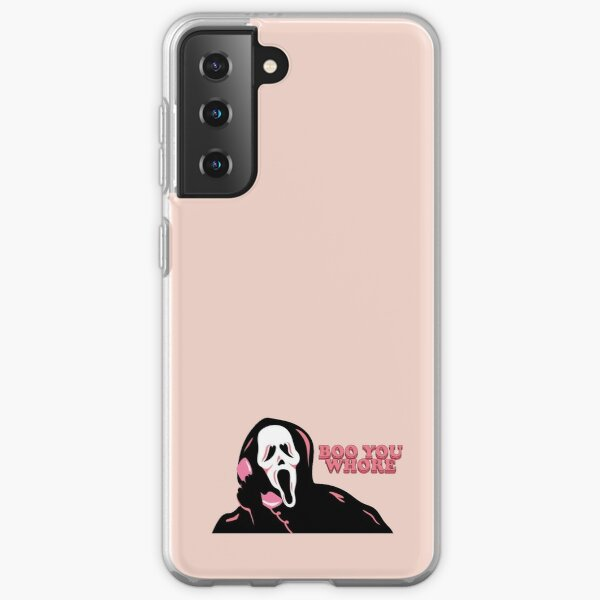 "Visage fantôme ""BOO YOU WHORE"" Coque souple Samsung Galaxy"