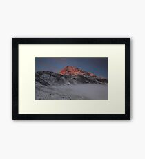 Sunrise at Crib Goch  Framed Print