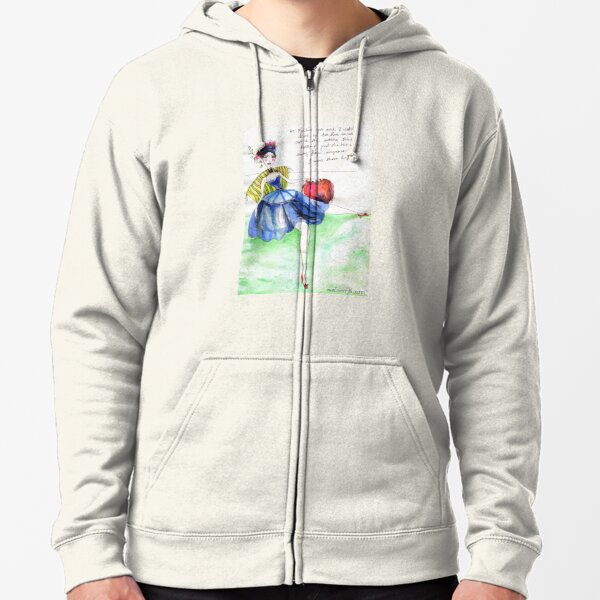 Introversion Zipped Hoodie