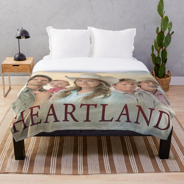 HEARTLAND ~SHOW Throw Blanket