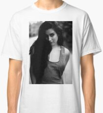 The girl in b&w Classic T-Shirt