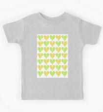 Love Hearts Abstract No.4 Kids Tee