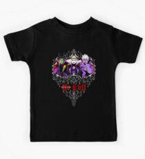 Three Wise Villains (Purple) Kids Clothes