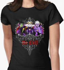 Three Wise Villains (Purple) Women's Fitted T-Shirt