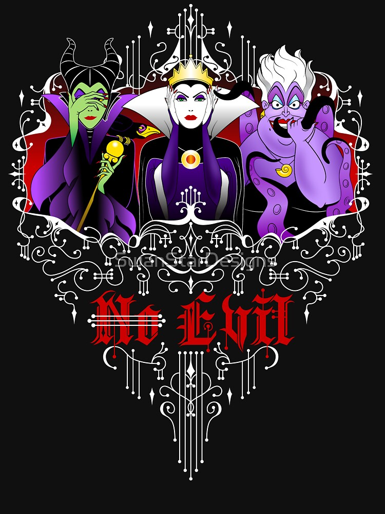 Three Wise Villains (Purple) | Unisex T-Shirt