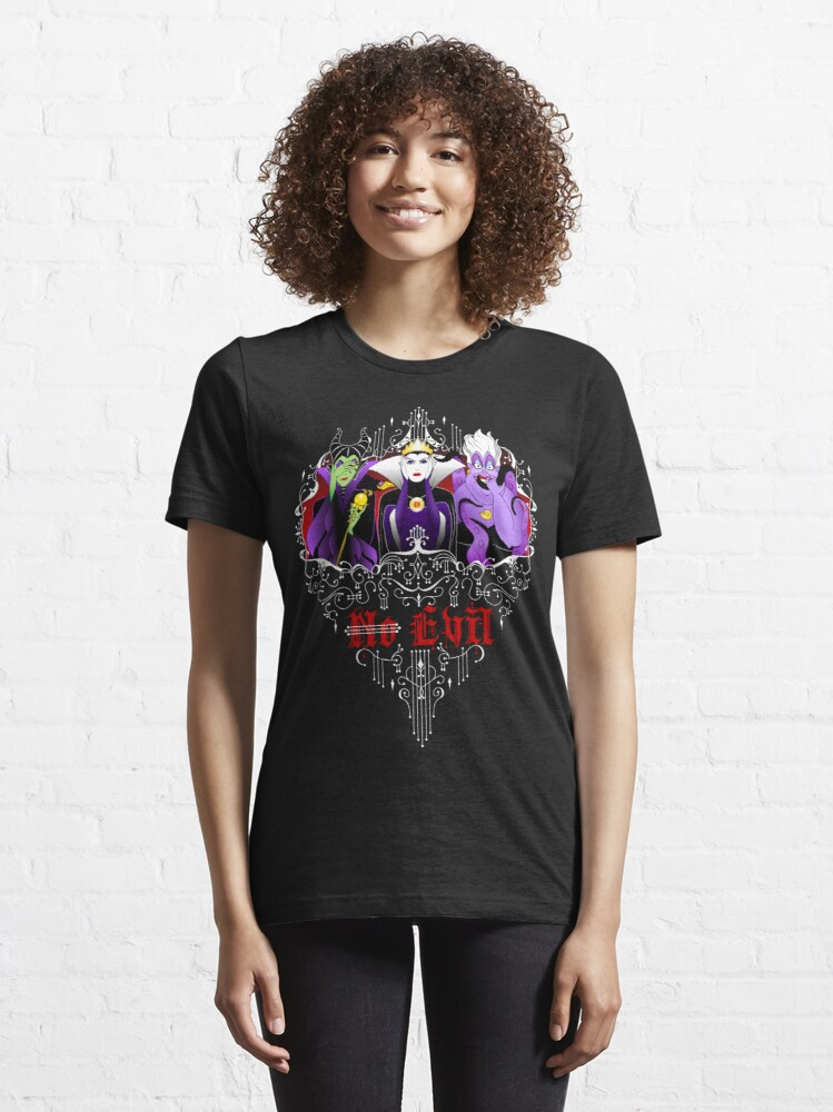 Alternate view of Three Wise Villains (Purple) Essential T-Shirt