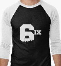 The 6ix Men's Baseball ¾ T-Shirt