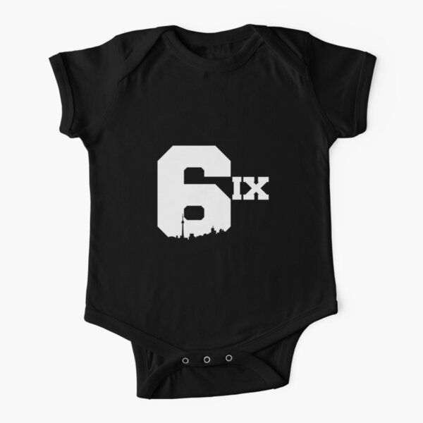 The 6ix Short Sleeve Baby One-Piece