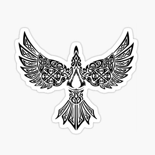 AC Valhall RavenVision Pegatina