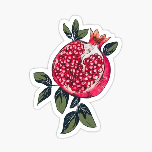 Pomegranate Sticker