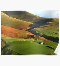 English Hills and Dales Poster