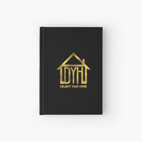 Delight your home  Hardcover Journal