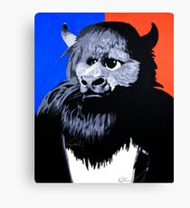 Rumble The Bison Canvas Print