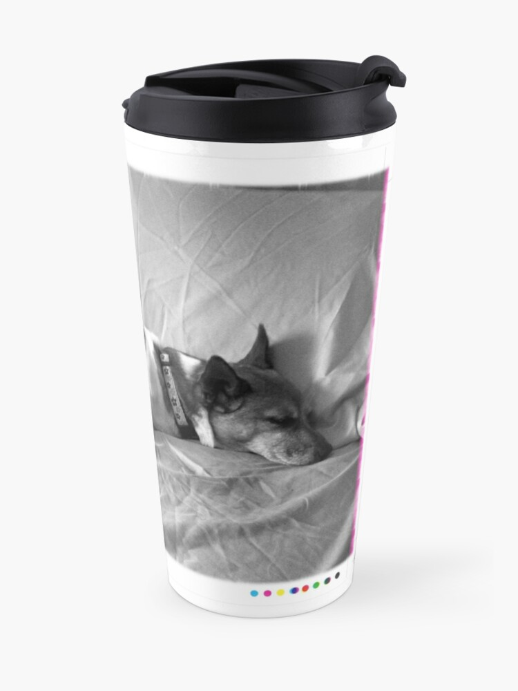 Alternate view of Jack in the bed Travel Mug