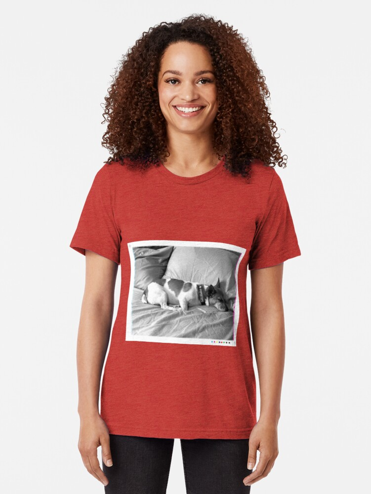 Alternate view of Jack in the bed Tri-blend T-Shirt