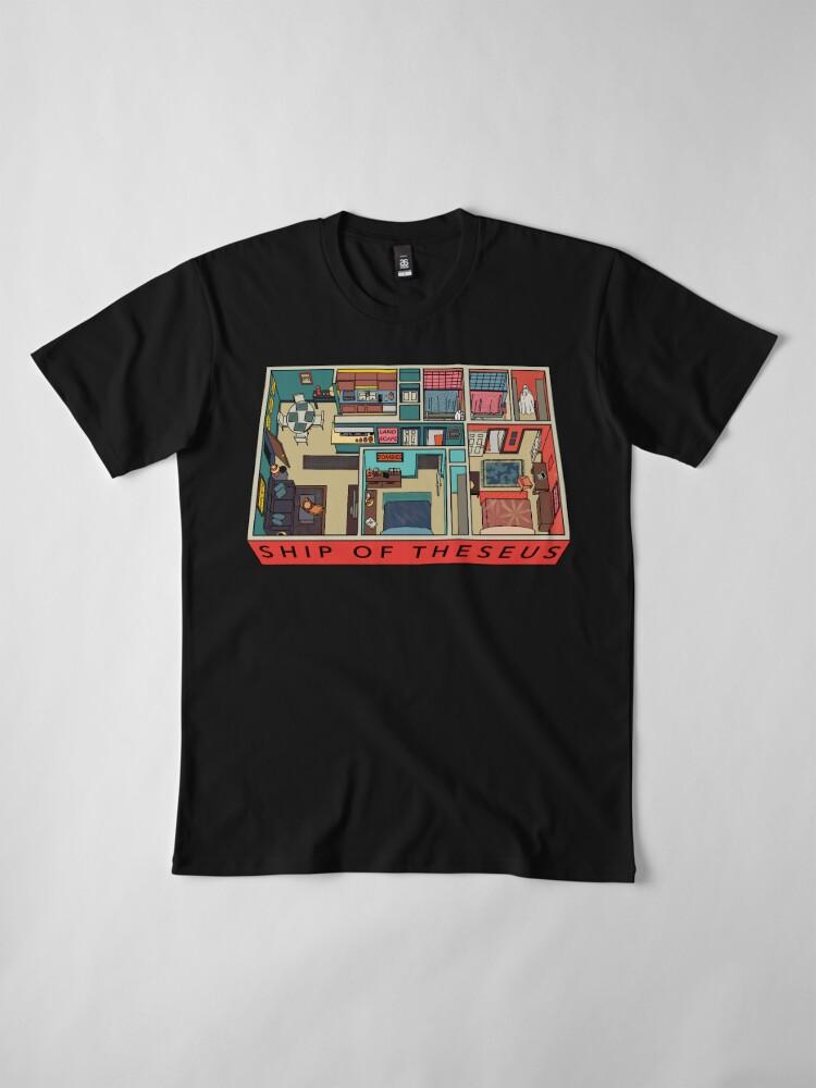 Alternate view of SHIP OF THESEUS: Dorothy's Apartment Premium T-Shirt