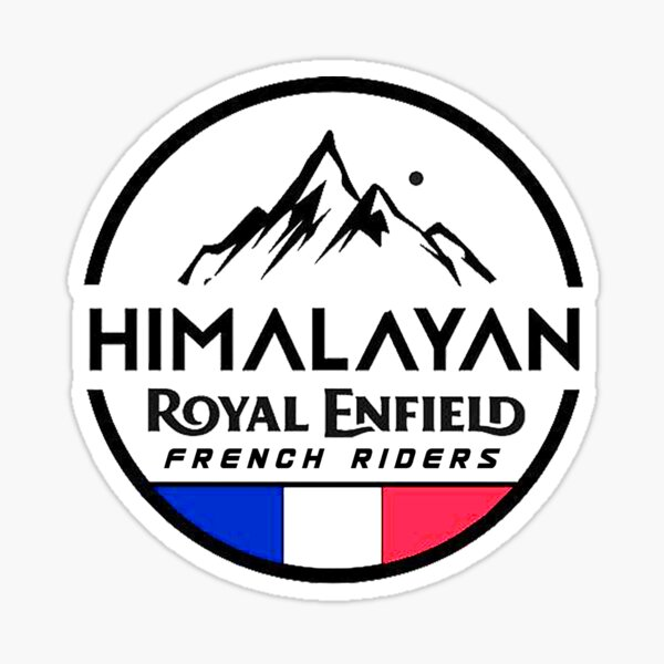 Himalayan French Riders Sticker