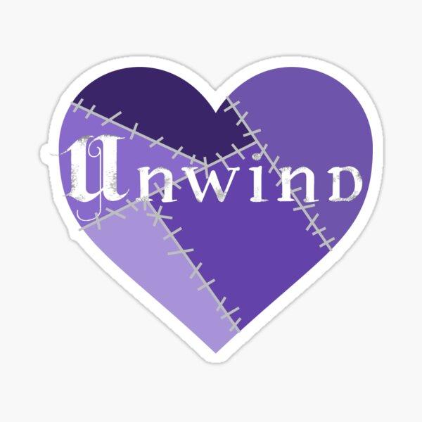 Unwind Heart Sticker