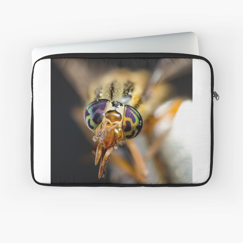 Crazy eyes Laptop Sleeve