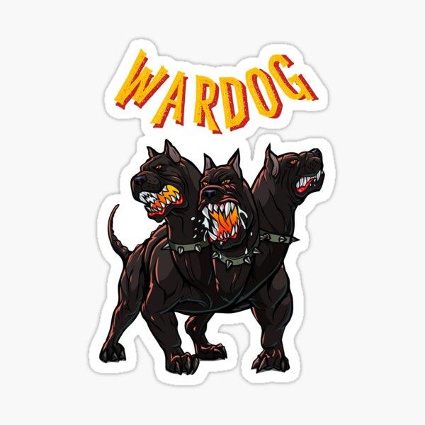 WARDOG CERBERUS Sticker
