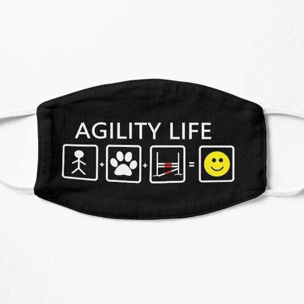 DOG AGILITY LIFE Flat Mask
