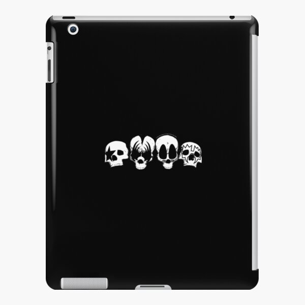 KISS Band Logo Skull Design With All Members  iPad Snap Case