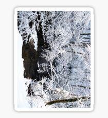 white creek Sticker