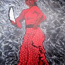 Chica Flamenca by Fiona  Lohrbaecher