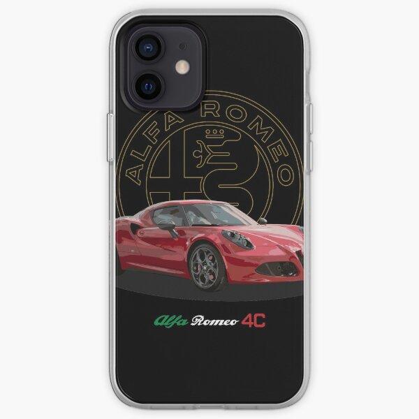 Alfa Romeo 4C Coque souple iPhone