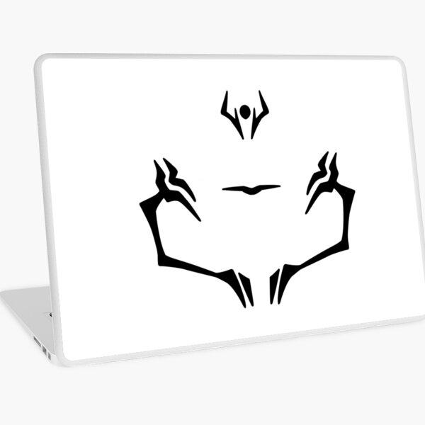 Jujutsu Kaisen Sukuna Face Tattoo Laptop Skin By Kingkdesings Redbubble