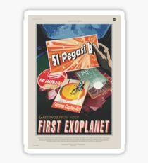NASA Tourism - 51 Pegasi b Sticker