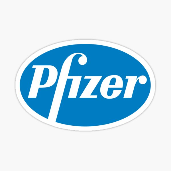 Pfizer vaccine Sticker