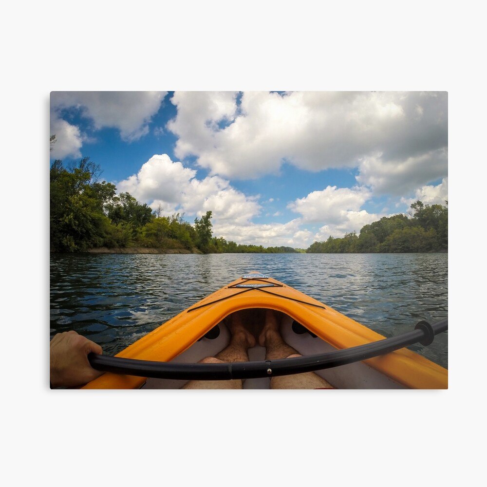 Out on the water Metal Print
