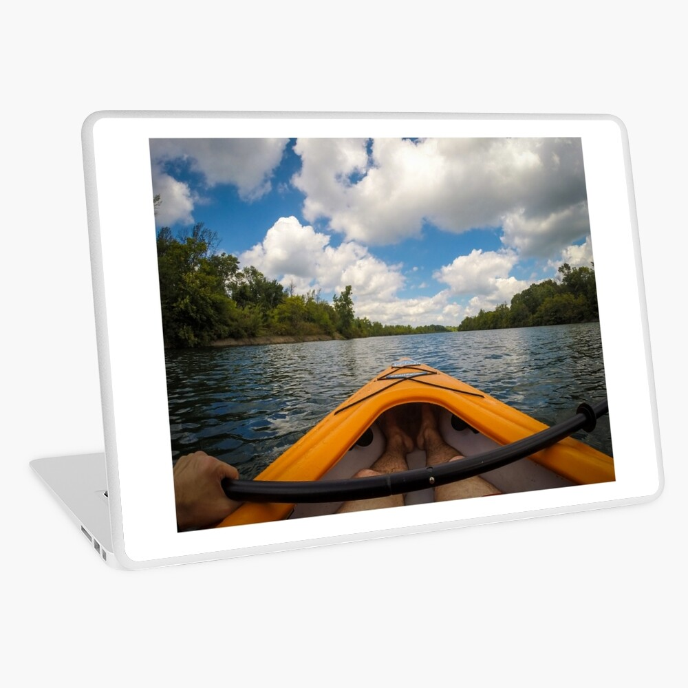 Out on the water Laptop Skin