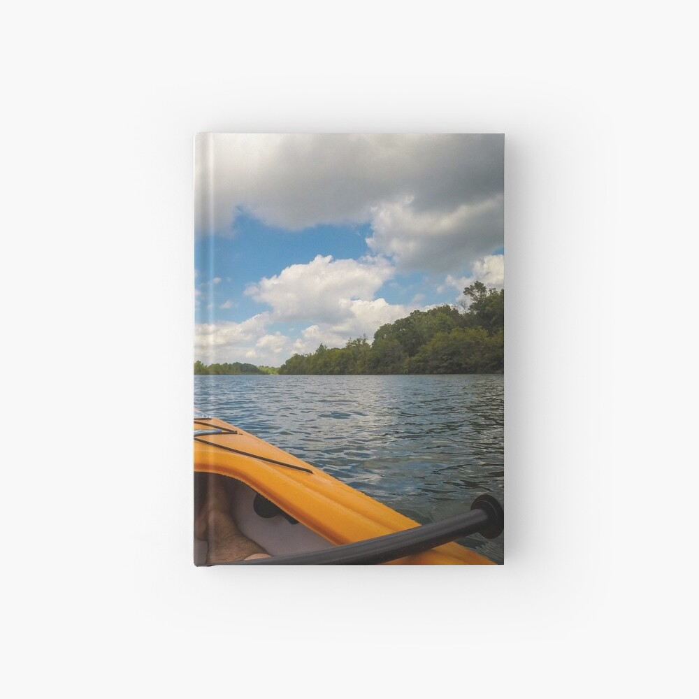 Out on the water Hardcover Journal