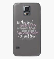 Funda/vinilo para Samsung Galaxy Para el alma hecha de fuego