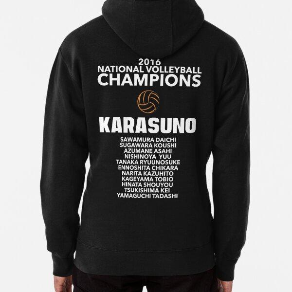 Karasuno Champions Pullover Hoodie