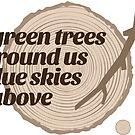 Green Trees Record (fcb) by Multnomah ESD Outdoor School