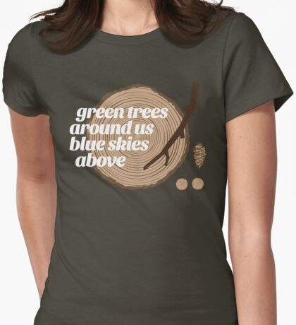 Green Trees Record (fcw) T-Shirt