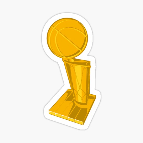 NBA Larry O'Brien Finals Trophy Sticker