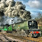West Country Class Wadebridge Departs - HDR by Colin  Williams Photography
