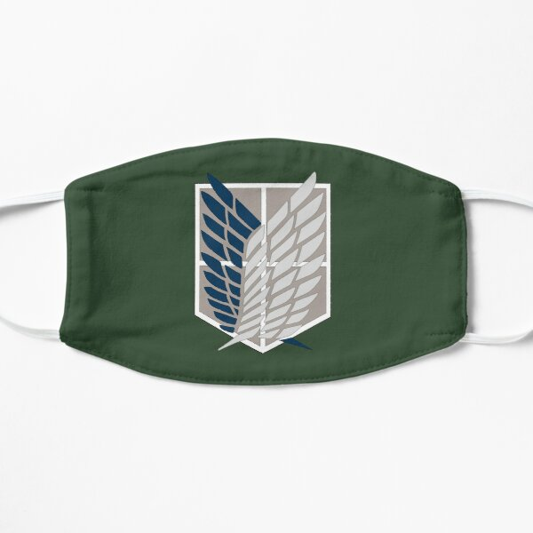 Logo del Batallón de Exploración Mascarilla plana