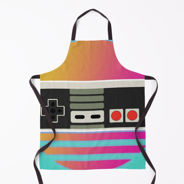 Classically trained - Nintendo Entertainment System (NES) - Outrun style Apron