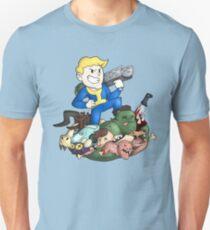 Vault Boy: Wasteland Warrior Unisex T-Shirt