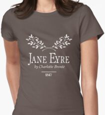 Jane Eyre by Charlotte Brontë Women's Fitted T-Shirt