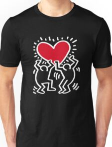 Keith Haring Love Unisex T-Shirt